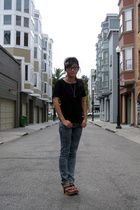 H&M shirt - H&M jeans - Pierre Hardy for Gap shoes