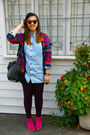 Patterned-asos-cardigan-ankle-dolce-vita-boots-asos-leggings