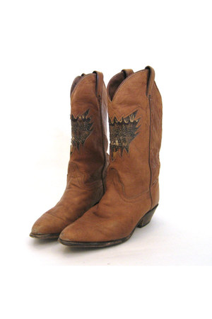 camel Code West boots