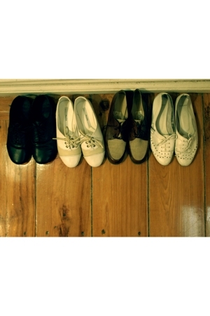 Picnic shoes - muda shoes - vintage shoes - Topshop shoes
