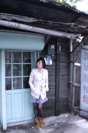 beige from Korea jacket
