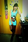 Blue-ed-hardy-dress