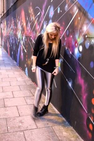 Glamorous leggings - H&M jumper
