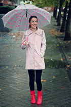 light pink choiescom coat - hot pink xti boots