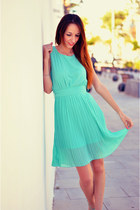 aquamarine mint tideshe dress