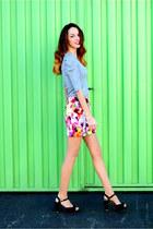 peach skirt PERSUNMALL skirt
