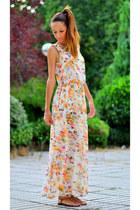 floral VJ-style dress