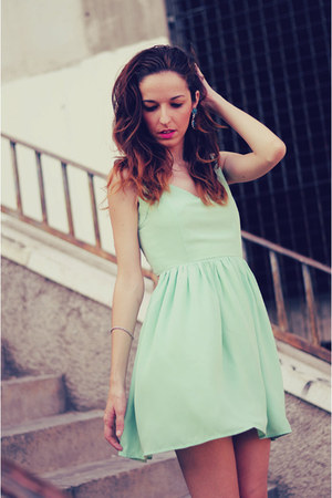 aquamarine dress Sheinside dress