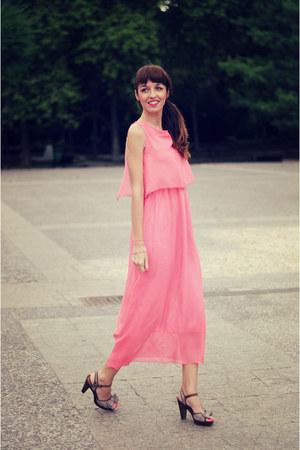 bubble gum 6ks dress - tan xti sandals