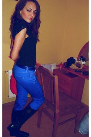 Bershka pants - no 1 boots