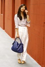 Blue-hobo-salvatore-ferragamo-bag-off-white-h-m-pants-periwinkle-asos-blouse