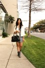 Ivory-lace-abercrombie-and-fitch-blazer-black-coach-bag