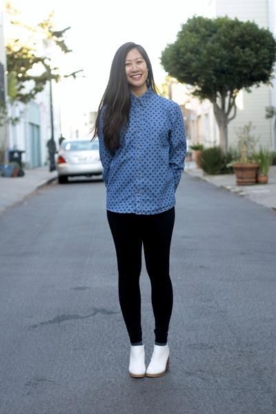 fleece VeryHoney leggings - platform Cheap Monday shoes