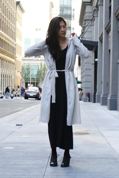 nice collective cardigan - oxfords Kimchi Blue shoes