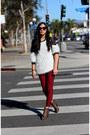 Eggshell-korea-sweater-ruby-red-ebay-jeans-dark-gray-marc-jacobs-bag