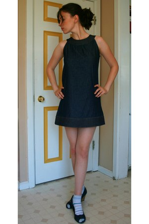 denim Speed Control New York dress - denim American Eagle wedges