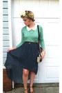 Polka-dot-target-skirt