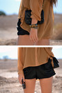 Sheer-lolita-blouse-chanel-boots-chanel-bag-random-accessories