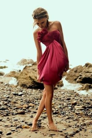 satin idk dress