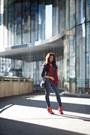 Shoedazzle-boots-h-m-coat-h-m-jeans-express-scarf