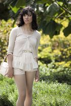 Charlotte Russe blouse - cardigan - Urban Outfitters shorts