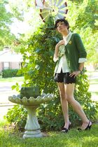 Urban Outfitters cardigan - shirt - Urban Outfitters shorts - Target shoes - acc