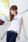 Gucci-belt-michael-kors-jeans-aldo-bag-forever-21-t-shirt