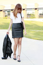 Hanes-t-shirt-wilson-jacket-calvin-klein-bag-h-m-skirt-zara-heels