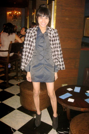 Topshop boots - ilaya dress - Forever21 accessories