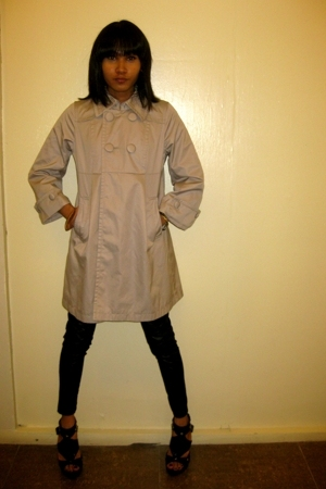 Nothing can stop me from wearing a Trench.