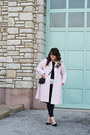 Light-pink-robe-coat-kimchi-blue-coat-black-diy-distressed-old-navy-jeans