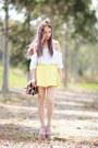 Lookbookstore-top-skater-yellow-junk-skirt