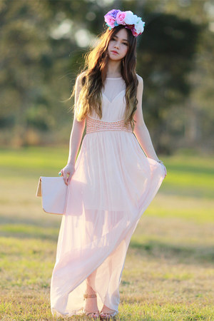chiffon AXPAris dress