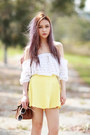 Lookbookstore-top-skater-yellow-junk-skirt