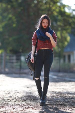 jeans Tobi jeans - knit Tobi sweater
