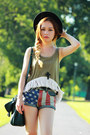 Topshop-shorts-pink-jeffrey-campbell-boots-forest-green-h-m-bag