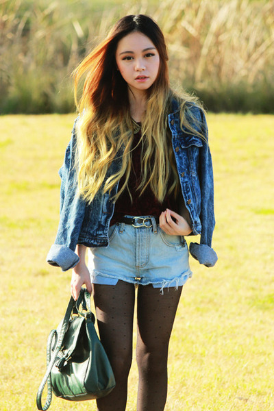 Denim Jacket Shorts - JacketIn