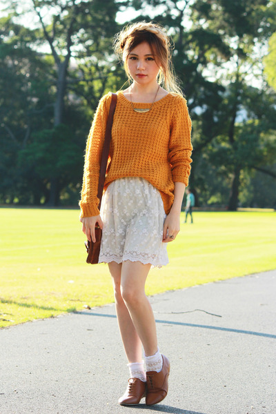 Roxy sweater - Oxford shoes