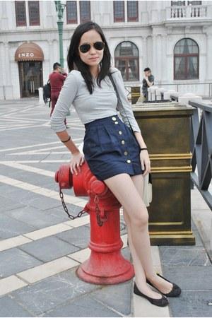 Topshop dress - Zara flats