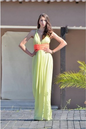 light yellow Atmosphere dress