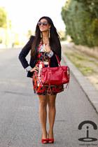 Formula Joven dress - pedro miralles shoes - Zara blazer