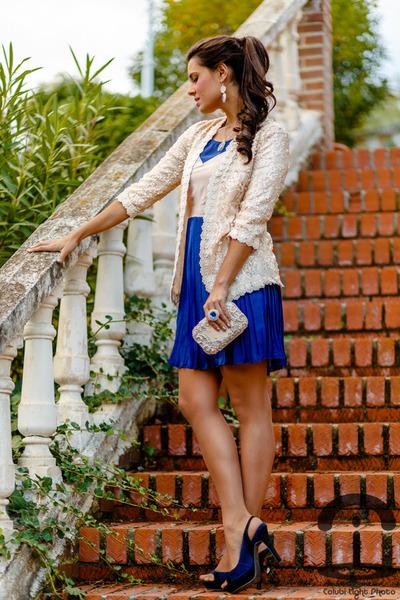 Sheinside jacket - Chicwish dress - Adriana Laura Mendez accessories