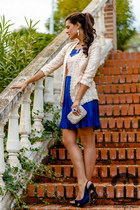Sheinside jacket - Chicwish dress - Adriana Laura Mendez accessories
