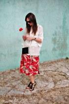 ruby red 1690 Miss Vintage skirt