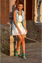 BLANCO sandals - Stradivarius shirt - H&M skirt