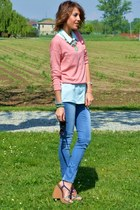H&M shoes - Zara jeans - Bershka sweater - H&M blouse