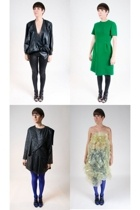 vintage dress - Vtg blazer - Plastic dress - Vtg dress