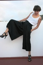 vintage pants - H&M t-shirt - Ebay shoes