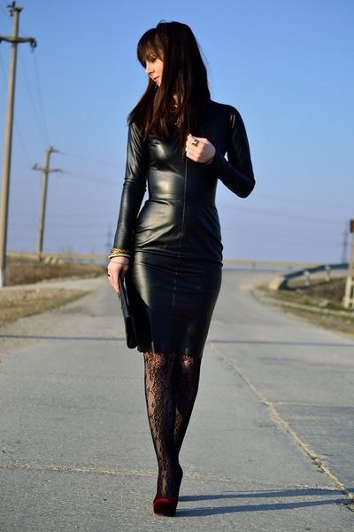 H&M shoes - PNK dress
