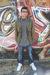 blue Gstar jeans - gray commune shirt - green All-Son jacket - white creative re